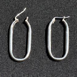 Zilveren creolen mini Aries