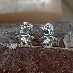 Zilveren oorstekers Peppa Pig 2