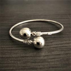 Zilveren Spang Armband III
