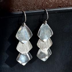 Zilveren oorbellen Zen