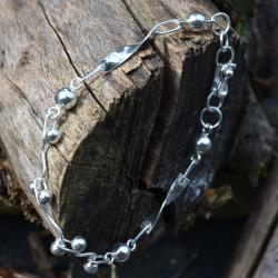 Zilveren armband Bali