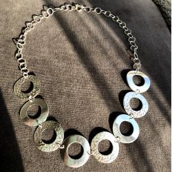 Zilveren ketting Noir