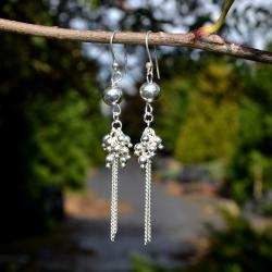 Zilveren oorbellen Kilie