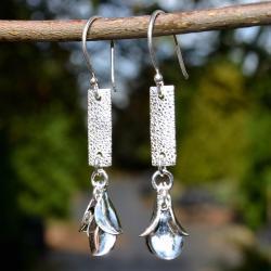 Zilveren oorbellen Divas