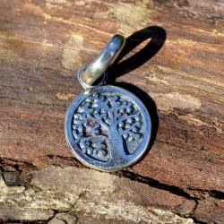 Zilveren bedel Levensboom 2