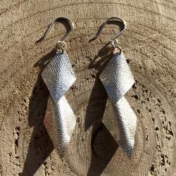 Zilveren oorbellen Milano