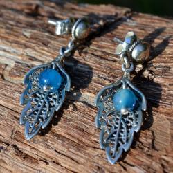 Zilveren oorbellen Amalia