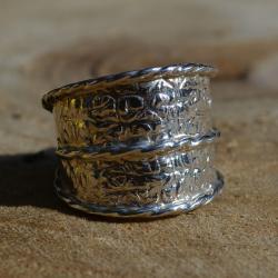 Zilveren Ring 6002
