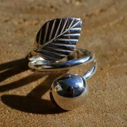 Zilveren ring 6008