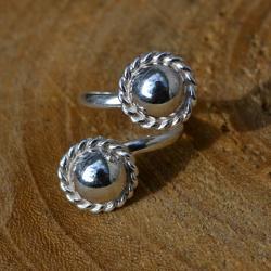 Zilveren ring 6011