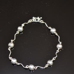 Zilveren armband Jolie