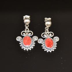 Zilveren oorbellen Sofia